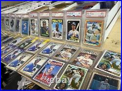 Entire Baseball Card Collection 28,000 Cards! Rookies, SP, Autos, Relics, Topps