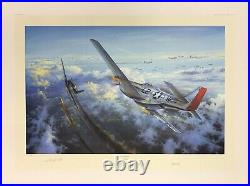 Final Victory by Simon Atack signed by legendary Ace Robin Olds