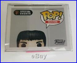Funko POP Movies! Bruce Lee San Francisco Giants Shannon Lee Signed Autograph