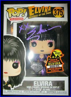 Funko Pop Elvira Spooky Empire 2019 Le 2500 Diamond Signed Autographed Proof