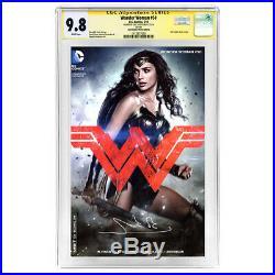 Gal Gadot Autographed Wonder Woman #50 CGC SS 9.8