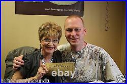 Gene Wilder Signed Willy Wonka Golden Ticket Beckett Bas Coa Denise Nickerson
