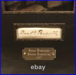 George Washington Signed Handwritten Doctor Priestly 1797 Jsa Historic