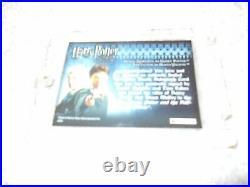Harry Potter Authentic Autograph Card Daniel Radcliffe Tom Felton Double Draco