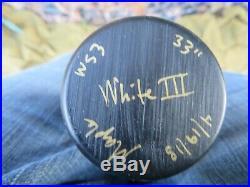 Jack White Signed Warstic Baseball Bat Third Man Records # 43/50 White Stripes