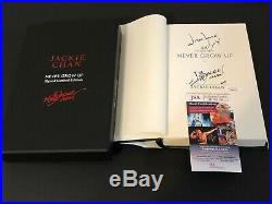 Jackie Chan Rush Hour Never Grow Up Signed Autograph Limited Edition Book JSA