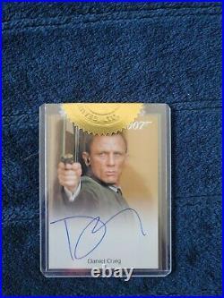 James Bond Daniel Craig Skyfall Autograph Card