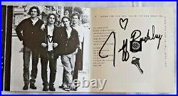Jeff Buckley GRACE CD autographed / signed + doodles + history letter guarantee