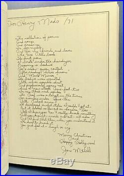 Joni Mitchell MORNING GLORY ON THE VINE Original 1/100. SIGNED 1971