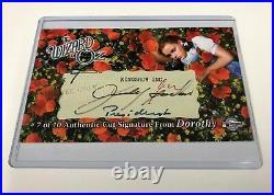 Judy Garland Autograph Auto Cut Signature Card CSD2 Wizard of Oz, Series 1