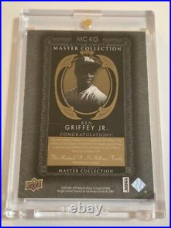 Ken Griffey Jr On Card Auto 1/20 Master Collection All Time Greats SSP Autograph