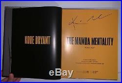 Kobe Bryant Mamba Mentality Book Signed/Autograph