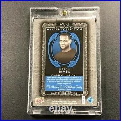 Lebron James 2015 Upper Deck Mc-lj Master Collection Autograph Auto /20 Blue