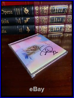 Lover SIGNED by TAYLOR SWIFT New CD with Autographed Cover & Free Be Mine Single