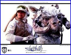 MARK HAMILL Signed Luke Skywalker STAR WARS 11x14 Photo BECKETT BAS #D39211