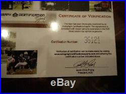 MICHAEL JACKSON 100% ORIGINAL AUTOGRAPH SIGNED AUTOGRAMM handsign. Inc. COA