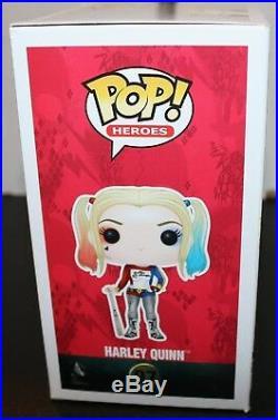 Margot Robbie Autographed Harley Quinn Signed Suicide Squad Funko Pop PSA JSA