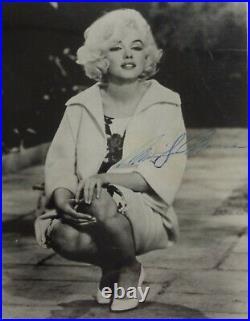 Marilyn Monroe Original Autographed Photo