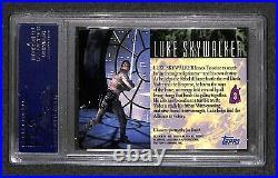 Mark Hamill LUKE SKYWALKER Topps STAR WARS signed autographed Card PSA/DNA