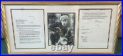 Marlon Brando THE GODFATHER signed movie contract Motorbike Oscar Winner UACC RD