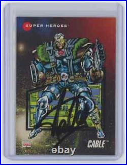 Marvel Cards Cable Signed Autographed By Stan Lee