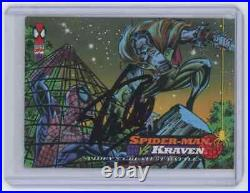 Marvel Cards Spider Man Vs Kraven Signed Autographed By Stan Lee