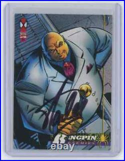 Marvel Cards The Kingpin Signed Autographed By Stan Lee