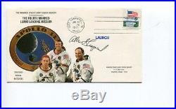 Mercury Seven Astronauts Gus Grissom John Glenn Deke Slayton Shepard Signed FDC