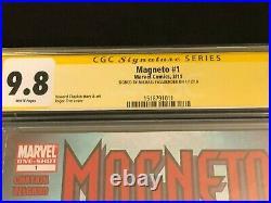 Michael Fassbender Magneto #1 Marvel X-Men Signed Autograph Comic CGC SS 9.8