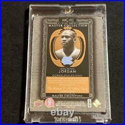 Michael Jordan 2015 Upper Deck Mc-mj Master Collection Autograph Auto /20 Nba