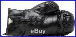 Mike Tyson Signed Left Black Everlast Boxing Glove JSA