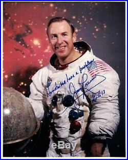 NASA Apollo 13 Astronaut James Lovell Signed Portrait Photo