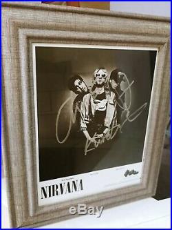 Nirvana Kurt Cobain DGC Promo Signed with LOA