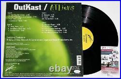 OUTKAST SIGNED ATLIENS ALBUM 2x LP VINYL RECORD ANDRE 3000 AUTOGRAPHED JSA COA
