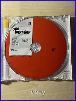 One Direction Hand Signed CD Photograph Genuine Autograph Harry Styles Zayn 1d