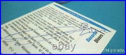 Panini Zidane Card Psa 9 Ultra Rare France 1996 Autographe Authentic Signed