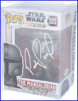 Pedro Pascal Star Wars The Mandalorian Autographed #326 Funko Pop