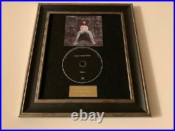 Personally Signed/autographed Louis Tomlinson Walls Framed CD Presentation
