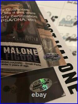 Post Malone Posty Custom 1/1 Signed Autographed Funko Pop Beckett Bas Coa