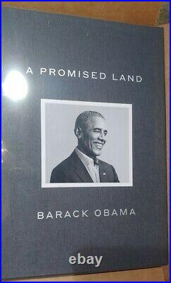 President Barack OBAMA SIGNED A Promised Land DELUXE 1ST Ed Autographed IN HAND