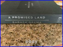 President Barack Obama Deluxe A Promised Land Un-signed No Autograph New Book