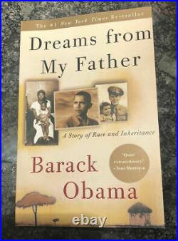 President Barack Obama Hand Signed Autograph Dreams From My Father Book 1st Ed