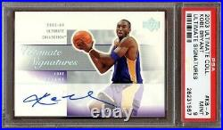 Psa 9 2003 Ultimate Collection Ultimate Signatures #kb-a Kobe Bryant Lakers Rare