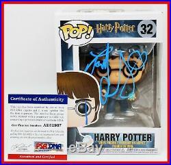 RARE Daniel Radcliffe Harry Potter 32 Signed Autographed Funko POP PSA JSA