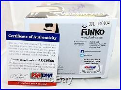 RARE John Travolta Signed Vincent Vega Pulp Fiction Autograph Funko POP PSA JSA
