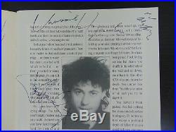 RARE Live Aid-1985 Multi Signed Original Program Todd Mueller COA