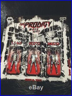 RARE The Prodigy RAVE HEROES chrome figurines (only 250#) signed by Keith Flint