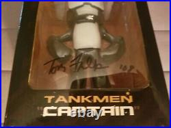 RARE Tom Fulp signed New Tankmen Captain by Newgrounds from 2008 FREE SHIPPING