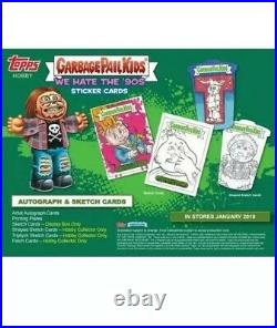 Rare! 2019 Garbage Pail Kids We Hate The 90s Collectors Box 1 Insert Guaranteed