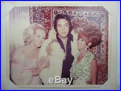 Rare Elvis Presley Jsa Certified Authentic Signed Las Vegas Portfolio Autograph